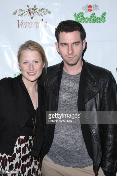 Mamie Gummer and attend IFC FILMS Presents the New York Premiere of BREAKING UPWARDS at IFC Film Center on April 1 2010 in New York City