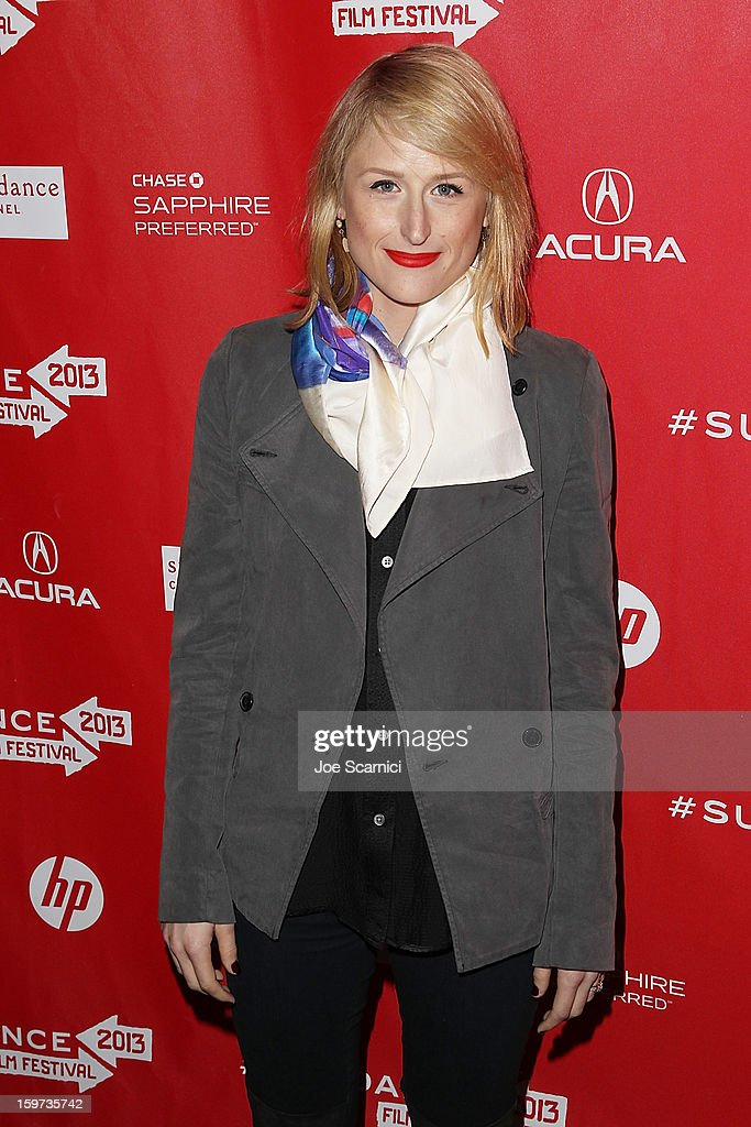 Mamie Gummer arrives at 'The Lifeguard' Premiere - 2013 Sundance Film Festival at Library Center Theater on January 19, 2013 in Park City, Utah.