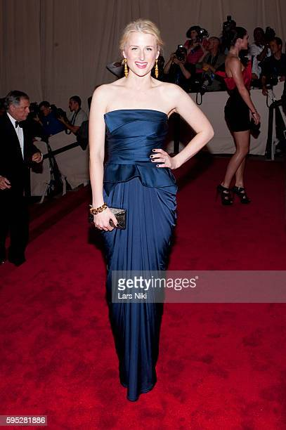 Mamie Gummer attends 'American Woman Fashioning A National Identity' Costume Institute Gala at The Metropolitan Museum of Art in New York City