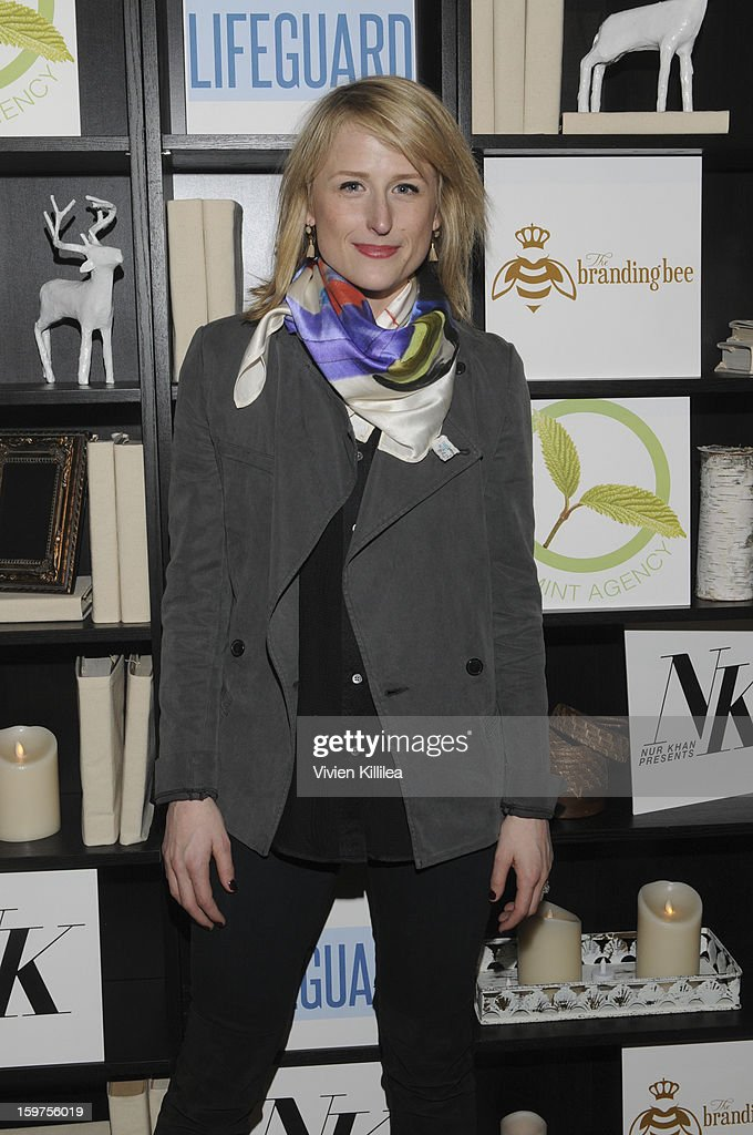 Mamie Gummer attends 'The Lifeguard' Premiere after party on January 19, 2013 in Park City, Utah.