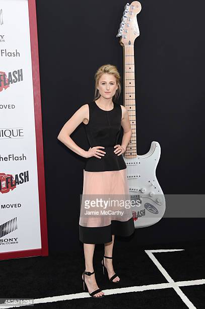 Mamie Gummer attends the New York premier of 'Ricki And The Flash' at AMC Lincoln Square Theater on August 3 2015 in New York City