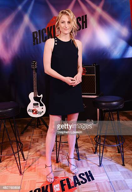 Mamie Gummer attends the 'Ricki And The Flash' cast photo call at Ritz Carlton Hotel on August 2 2015 in New York City