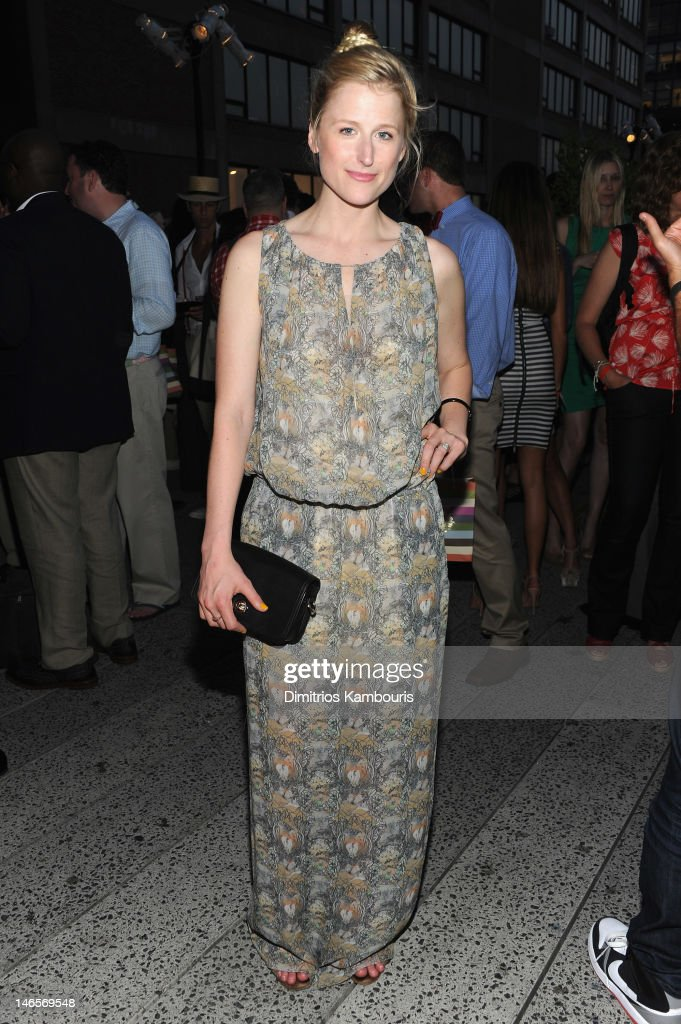 Mamie Gummer attends the Summer Party on the HIGH LINE, Presented by COACH at The Highline on June 19, 2012 in New York City.