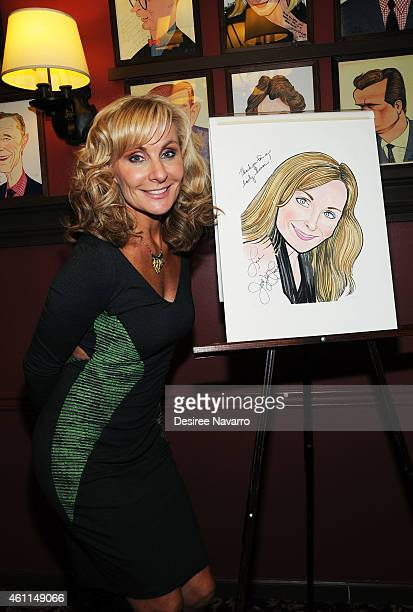 'Mamma Mia' leading lady actress Judy McLane attends her Portrait Unveiling at Sardi's on January 7 2015 in New York City
