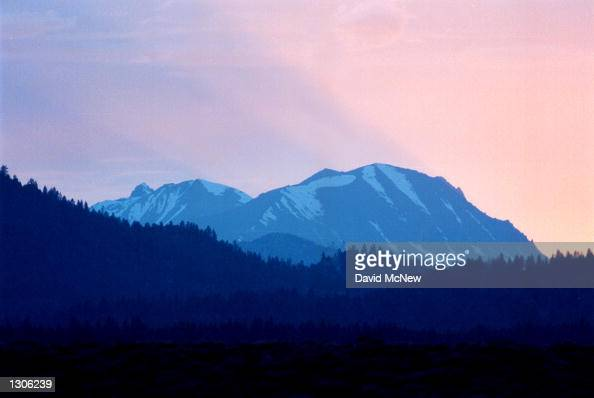 Mammoth Mountain in the Eastern Sierra Nevada Mountains of California is located along the giant Long Valley Caldera where recurring earthquake...