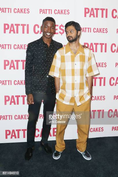 Mamoudou Athie and Siddharth Dhananjay attend the New York premiere of 'Patti Cake$' at Metrograph on August 14 2017 in New York City