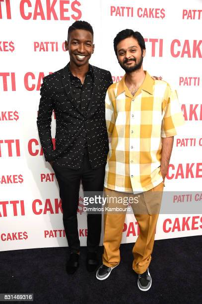 Mamoudou Athie and Siddharth Dhananjay attend the 'Patti Cake$' New York Premiere at The Metrograph on August 14 2017 in New York City