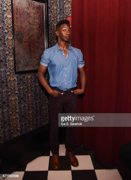 Mamoudou Athie attends 2017 Tribeca Film Festival After Party For One Percent More Humid sponsored by Bulleit Bourbon at The Chester on April 21 2017...