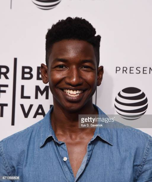 Mamoudou Athie attends 'One Percent More Humid' Premiere during the 2017 Tribeca Film Festival at SVA Theatre on April 21 2017 in New York City