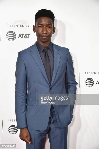 Mamoudou Athie attends 'The Circle' Premiere at the BMCC Tribeca PAC on April 26 2017 in New York City