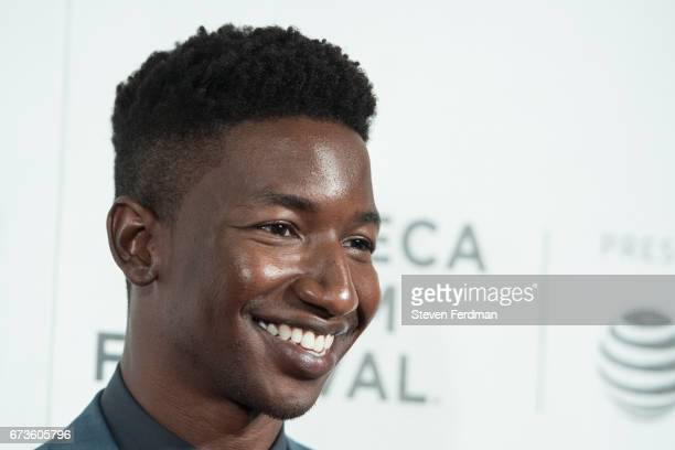 Mamoudou Athie attends 'The Circle' premiere during the 2017 Tribeca Film Festival at BMCC Tribeca PAC on April 26 2017 in New York City