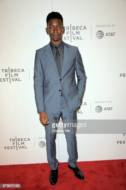 Mamoudou Athie attends 'The Circle' screening during the 2017 Tribeca Film Festival at BMCC Tribeca PAC on April 26 2017 in New York City