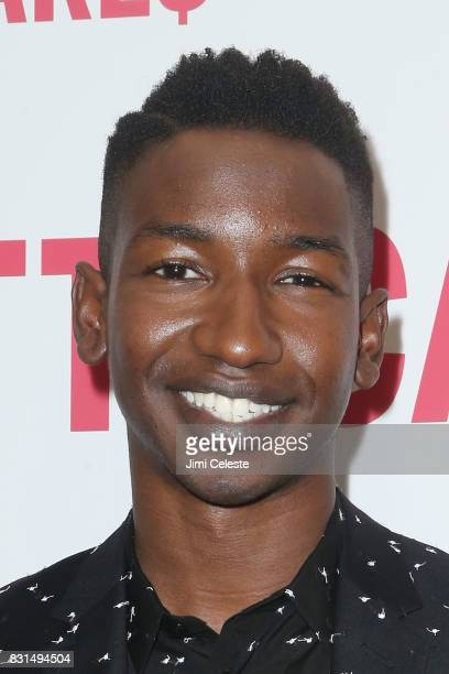 Mamoudou Athie attends the New York premiere of 'Patti Cake$' at Metrograph on August 14 2017 in New York City