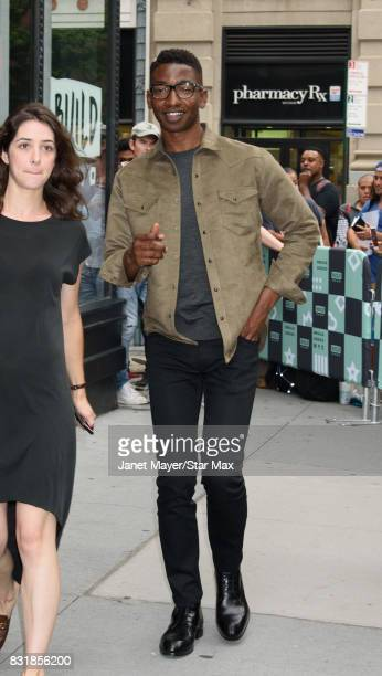 Mamoudou Athie is seen on August 15 2017 in New York City