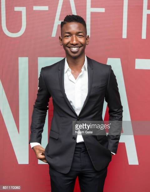 Mamoudou Athie visits SAGAFTRA Foundation to discuss 'Patti Cake$' at SAGAFTRA Foundation Robin Williams Center on August 13 2017 in New York City