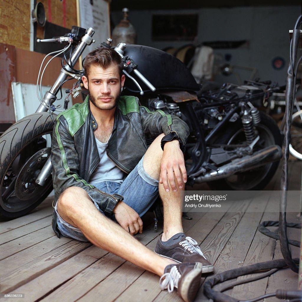 Man and his bike