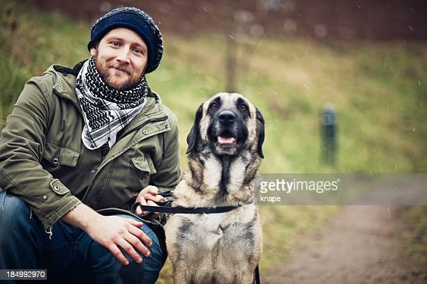 Homem e seu cão