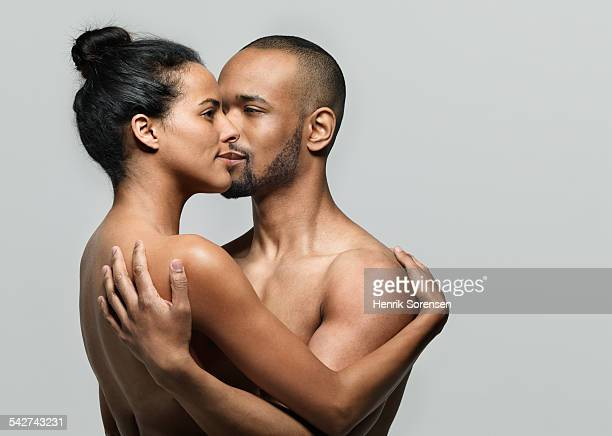Man and woman embracing each other