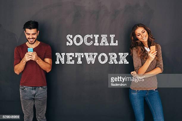 Uomo e donna nel concetto di rete sociale
