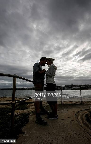 Man and Woman making a promise or engagement
