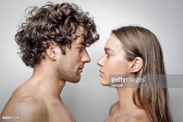 Man en vrouw