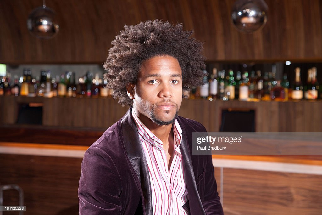 A man at a club : Stock Photo