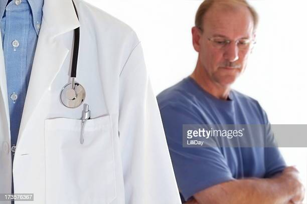 Man at Doctor's Visit