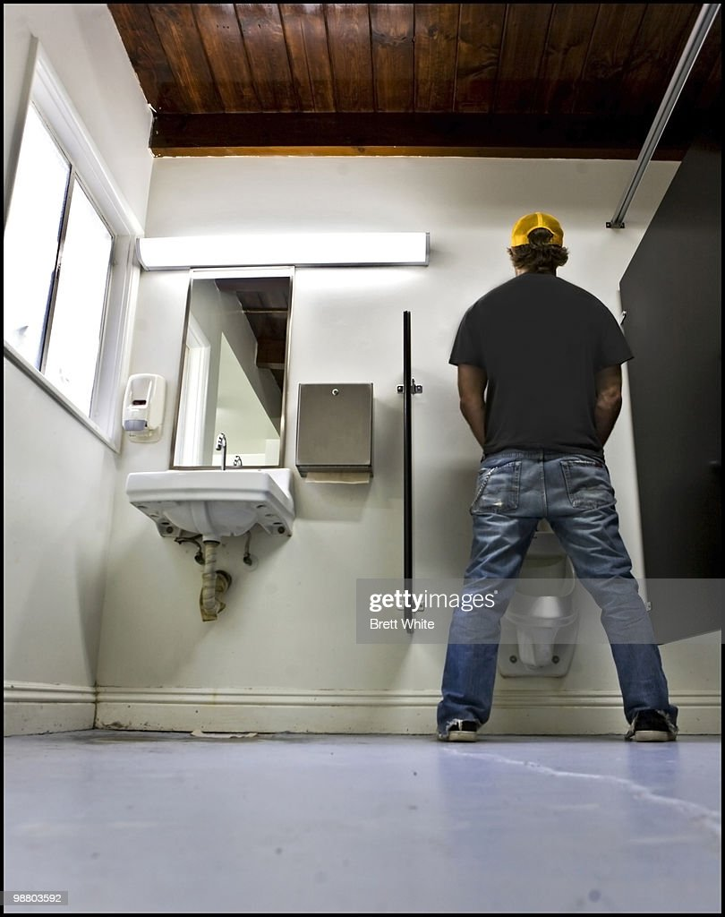 Man at Urinal