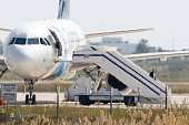A man believed to be the hijacker of the EgyptAir Airbus A320 which was diverted to Cyprus leaves the plane on March 29 2016 The hijacker who seized...