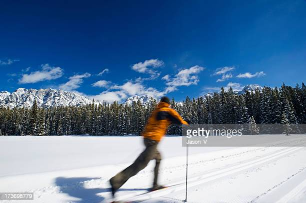 Mann cross country Ski