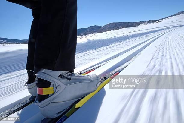 Man Cross Country (Nordic) skiing