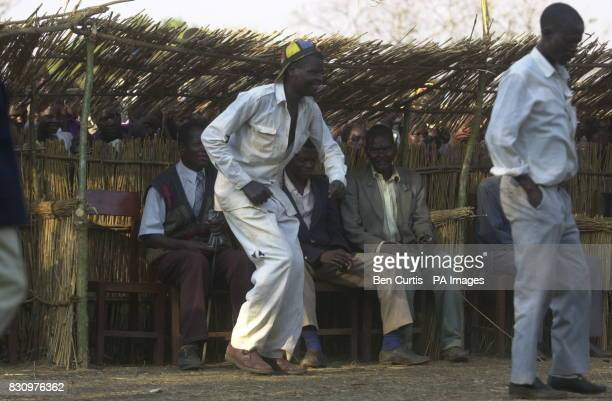 A man dancing in Malawi The United Nations currently estimates 181 million people face starvation in the southern Africa region