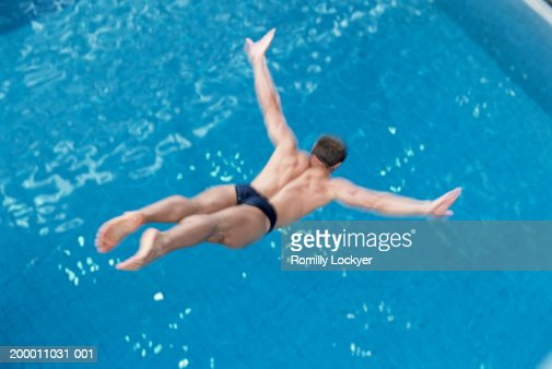 Swan Dive Stock Photos And Pictures Getty Images
