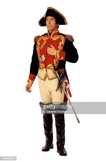 Man Dressed as Napoleon