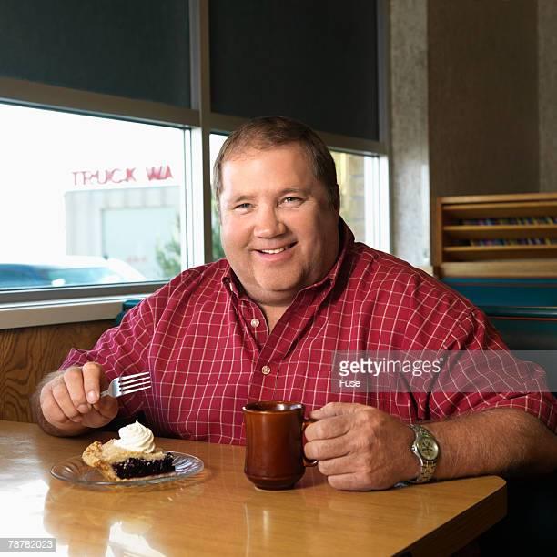 Man Eating Pie