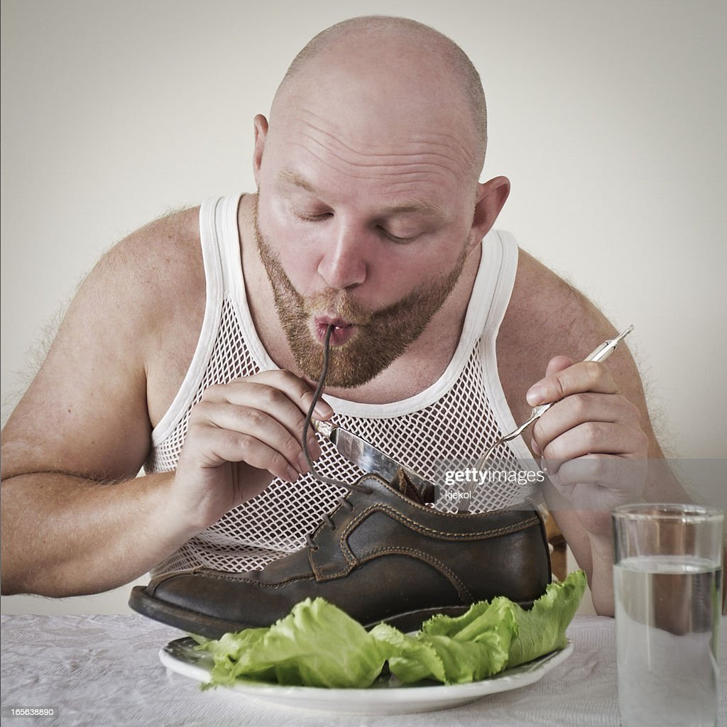 Man Eats Shoes