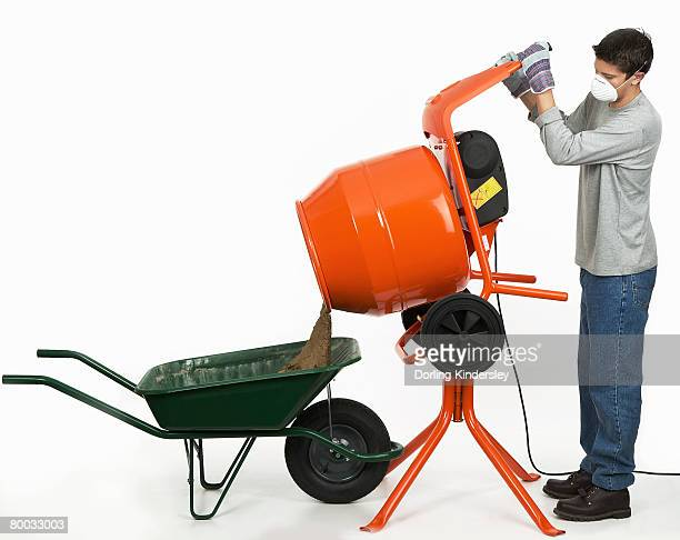 cement mixer stock photos and pictures getty images. Black Bedroom Furniture Sets. Home Design Ideas