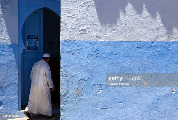 Man entering mosque