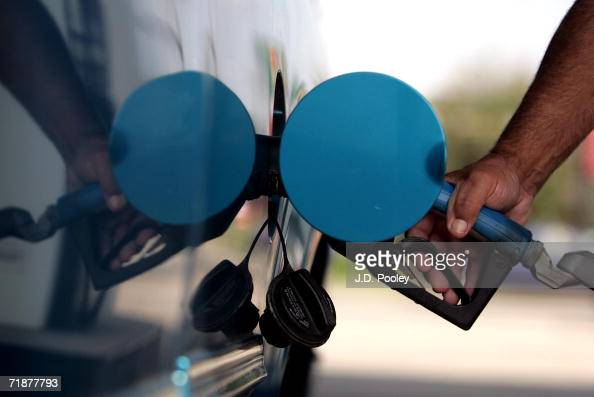 A man fills the tank of his pickup truck on September 13 in Toledo Ohio Toledo has seen some of the lowest recorded gas prices in the country