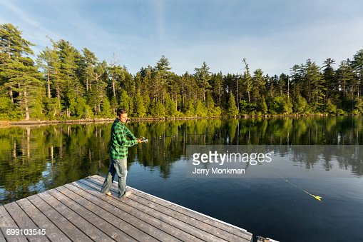 Piscataquis county stock photos and pictures getty images for Stocked fishing ponds near me