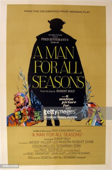 an analysis of robert bolts play a man for all seasons Free study guide for a man for all seasons by robert bolt  the common man,  an unusual character in that he plays many roles within the.