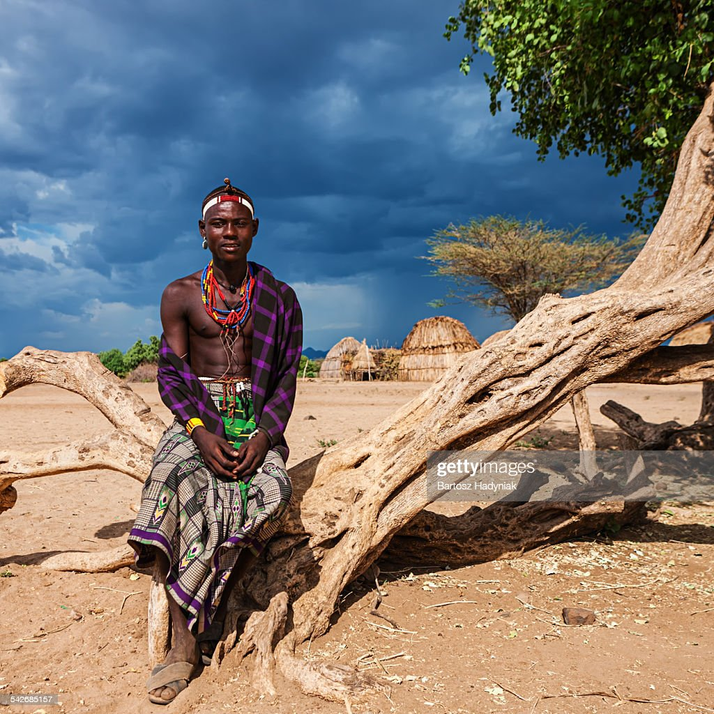 Man from Erbore tribe, Omo Valley in Ethiopia