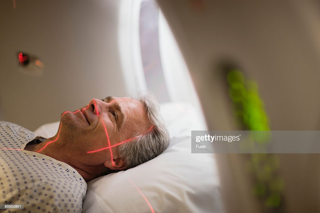 Man Getting MRI