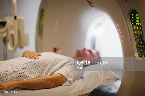 Man Getting MRI