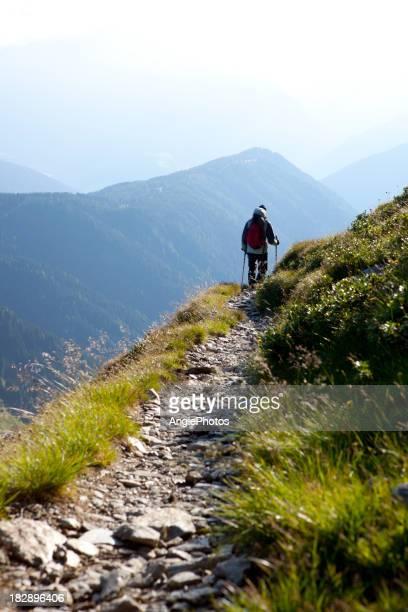 Mann Wandern