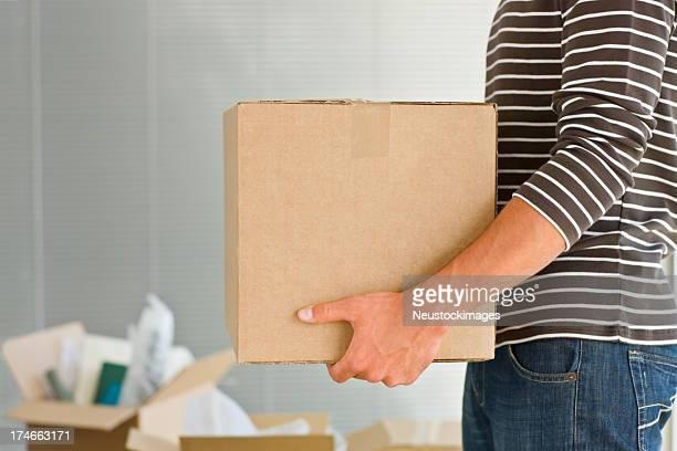 男性の保持ボックス