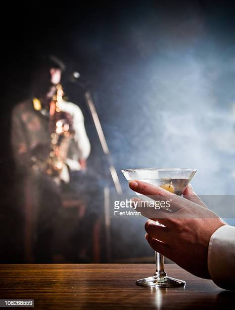 Man Holding Martini
