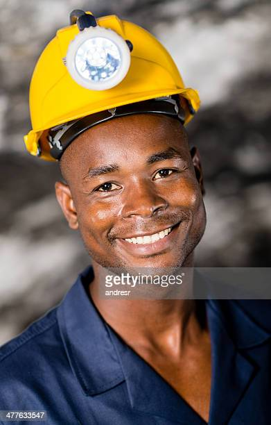 Man in a mine