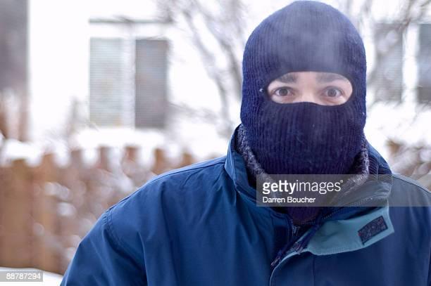 Man in balaclava