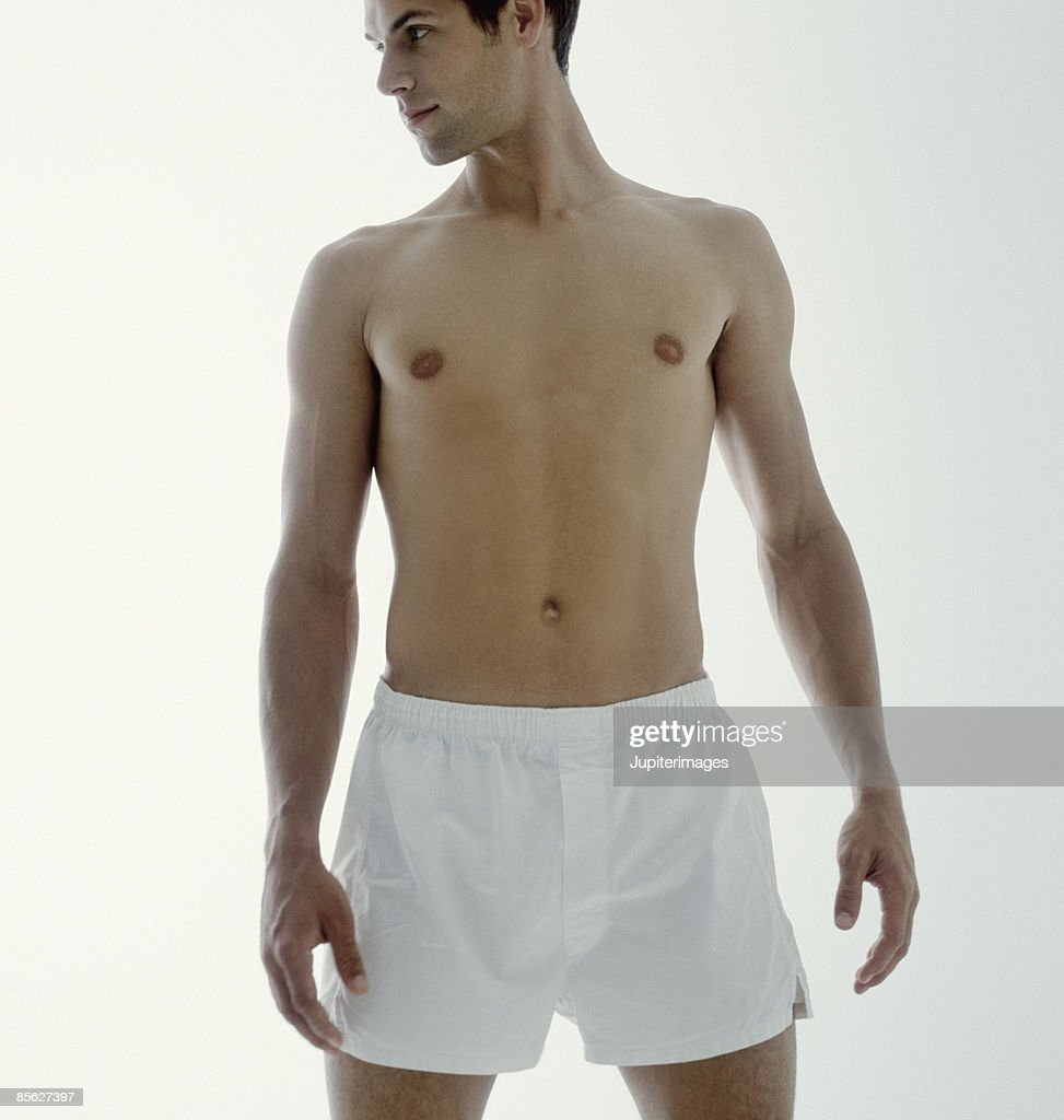 Man in Boxer Shorts